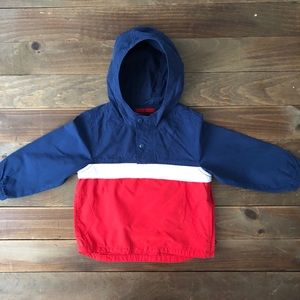 Baby Gap Pull Over Wind Breaker, EUC